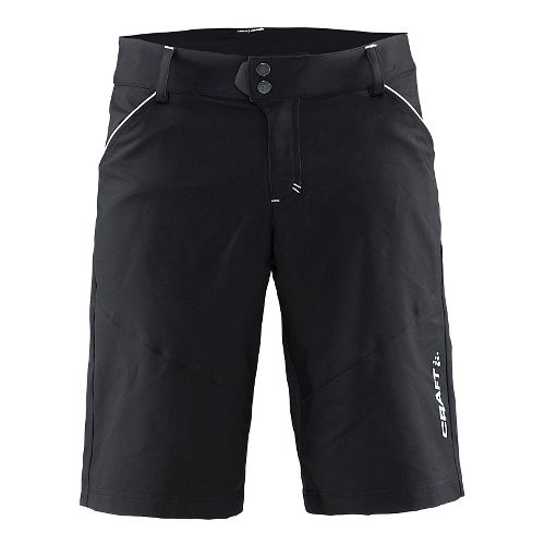 Mens Craft Escape Cycling Shorts - Black/White M