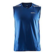 Mens Craft Focus Cool Sleeveless & Tank Technical Tops