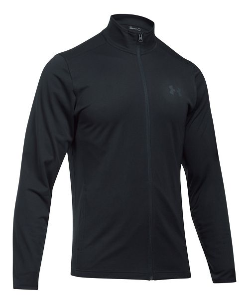 Mens Under Armour Maverick Running Jackets - Black/Black XL