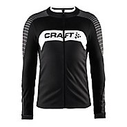 Mens Craft Gran Fondo Jersey Long Sleeve Technical Tops
