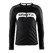 Mens Craft Gran Fondo Jersey Long Sleeve Technical Tops