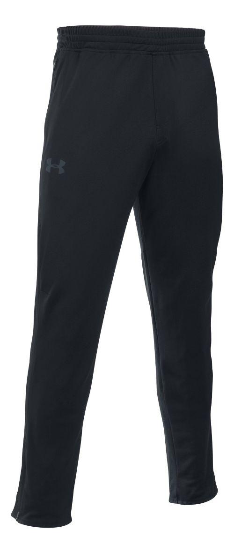 Mens Under Armour Maverick Tapered Pants - Black/Black 3XL