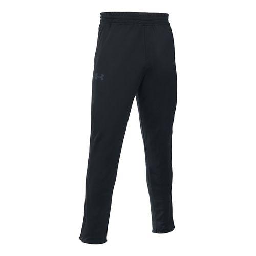 Mens Under Armour Maverick Tapered Pants - Black/Black L-T