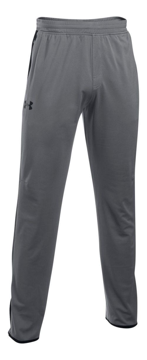 Mens Under Armour Maverick Tapered Pants - Graphite/Black L