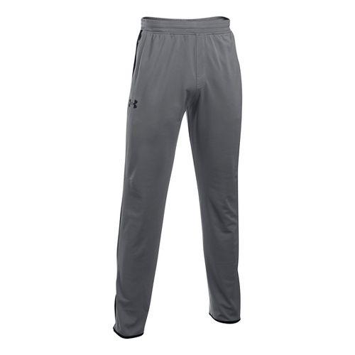 Mens Under Armour Maverick Tapered Pants - Graphite/Black SR