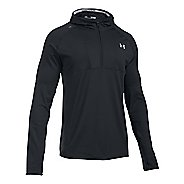 Mens Under Armour No Breaks Balaclava Hoodie & Sweatshirts Technical Tops
