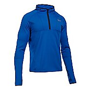 Mens Under Armour No Breaks Balaclava Hoody Half-Zips & Hoodies Technical Tops