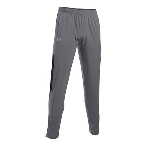 Mens Under Armour No Breaks SW Tapered Pants - Graphite/Black L
