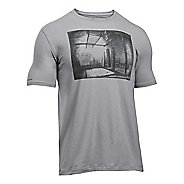 Mens Under Armour Photoreal Gym T Short Sleeve Technical Tops