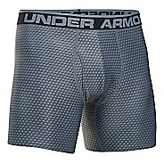 "Mens Under Armour Original 6"" BoxerJock Print Boxer Brief Underwear Bottoms"