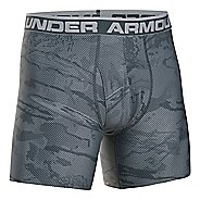 Mens Under Armour Original 6'' BoxerJock Print Boxer Brief Underwear Bottoms