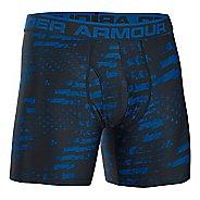 """Mens Under Armour Original 6"""" BoxerJock Print Boxer Brief Underwear Bottoms"""