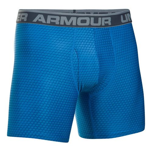 Mens Under Armour Original 6'' BoxerJock Print Boxer Brief Underwear Bottoms - Brilliant ...
