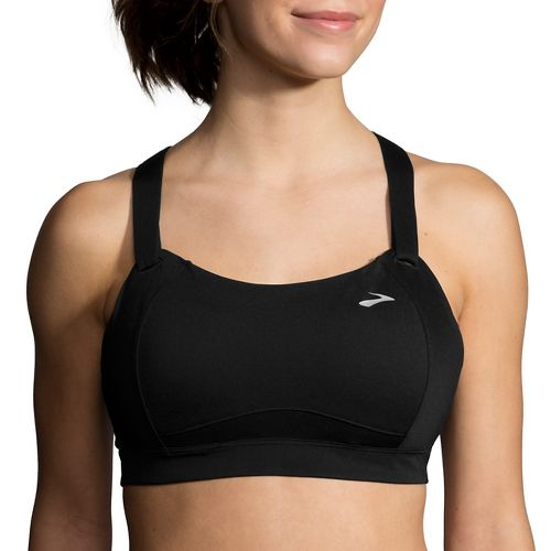 Womens Brooks Juno Sports Bra - Black 34D