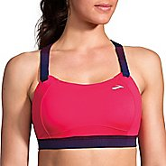 Womens Brooks Juno Sports Bra - Dahlia/Market Haze 38DD