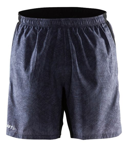 Mens Craft Joy Relaxed 2-in-1 Shorts - Line Black XXL