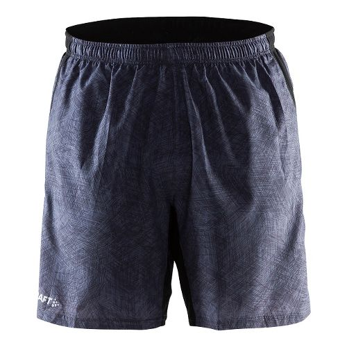 Mens Craft Joy Relaxed 2-in-1 Shorts - Line Black XL
