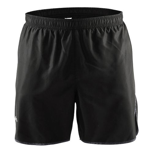 Mens Craft Mind Lined Shorts - Black/Line Grey XL