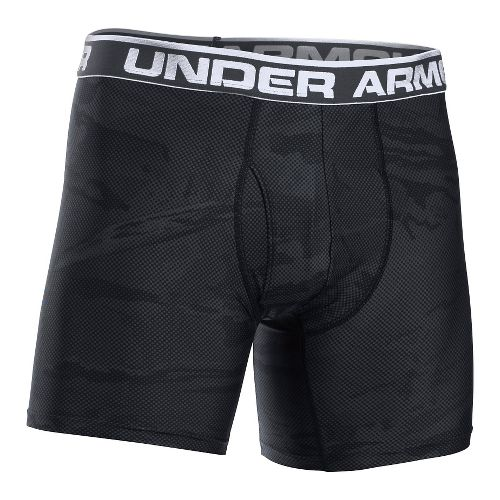 Mens Under Armour Original 6'' BoxerJock Print (Hanging) Boxer Brief Underwear Bottoms - Rough ...