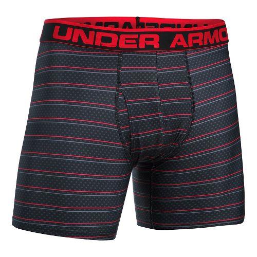 Mens Under Armour Original 6'' BoxerJock Print (Hanging) Boxer Brief Underwear Bottoms - ...