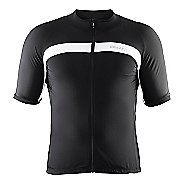 Mens Craft Velo Jersey Short Sleeve Technical Tops
