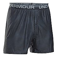 Mens Under Armour Original Printed Boxer Underwear Bottoms