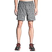 Mens Brooks Rush 7in Lined Shorts