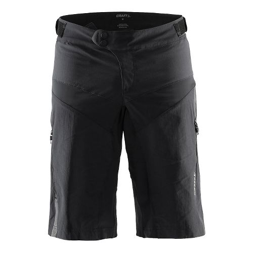 Mens Craft Xover Short Cycling Shorts - Black/White XL