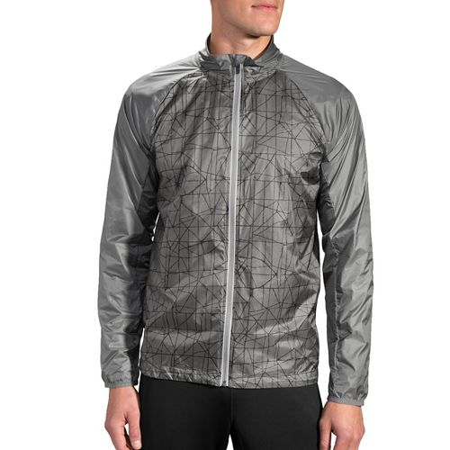 Mens Brooks LSD Running Jackets - Oxford Tangent L