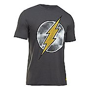 Mens Under Armour Retro Flash T Short Sleeve Technical Tops