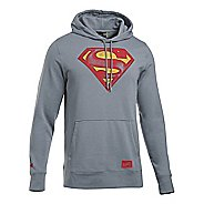 Mens Under Armour Retro Superman Triblend Hoodie & Sweatshirts Technical Tops