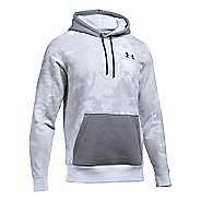 Mens Under Armour Rival Camo Printed Hoodie & Sweatshirts Technical Tops