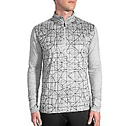 Mens Brooks Dash 1/2 Zip Long Sleeve Technical Tops