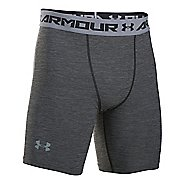 Mens Under Armour HeatGear Twist Compression & Fitted Shorts