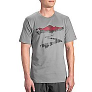 Mens Brooks Long Road T-Shirt Short Sleeve Technical Tops