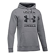 Mens Under Armour Rival Graphic Hoodie & Sweatshirts Technical Tops