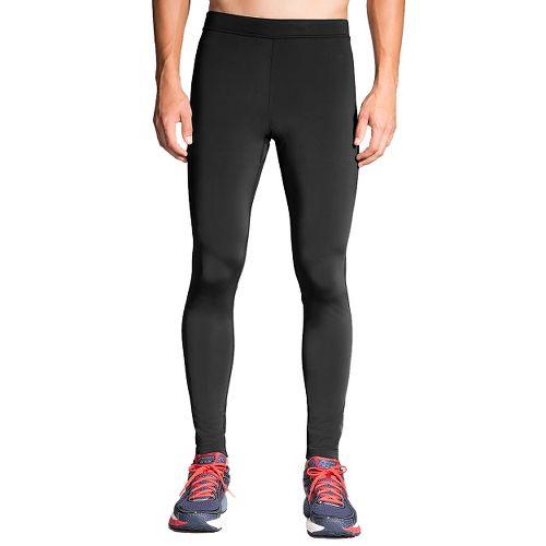 Mens Brooks Go-To Tights & Leggings Pants - Black XS