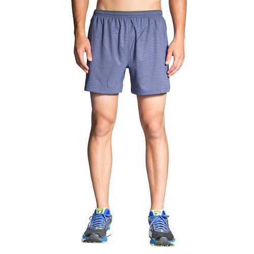Mens Brooks Sherpa 5in Lined Shorts - Coast Forge XL