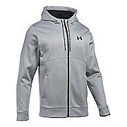 Mens Under Armour Storm Fleece Full Half-Zips & Hoodies Technical Tops