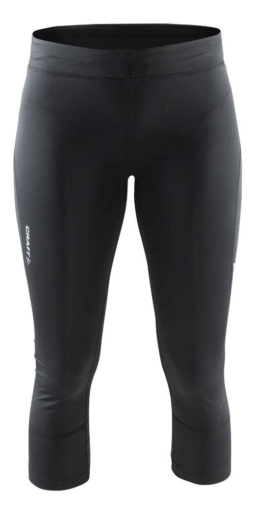 Womens Craft Devotion Capris Pants - Black XS