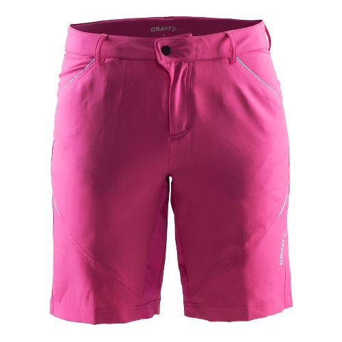 Womens Craft Escape Cycling Shorts - Smoothie/Pop L