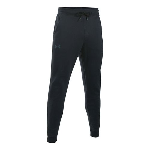 Mens Under Armour Storm Rival Cotton Jogger Pants - Black XL