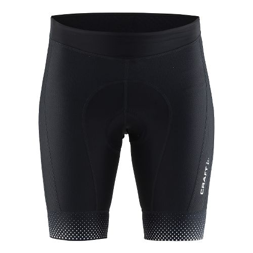 Womens Craft Glow Cycling Shorts - Black XS