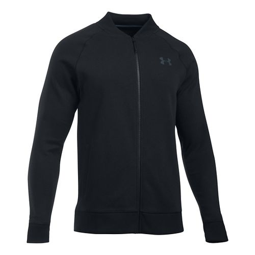 Mens Under Armour Storm Rival Marauder Running Jackets - Black M