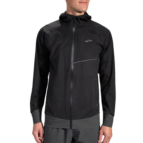 Mens Brooks Cascadia Running Jackets - Black L