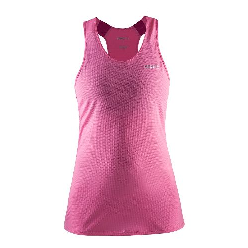 Womens Craft Joy Singlet Sleeveless & Tank Technical Tops - Pop/Smoothie S