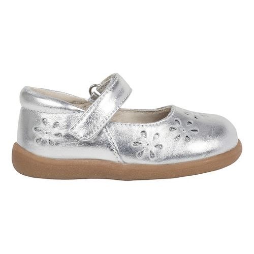See Kai Run Girls Ginger II Casual Shoe - Silver 6C
