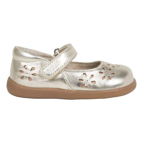 See Kai Run Girls Ginger II Casual Shoe - Gold 5C