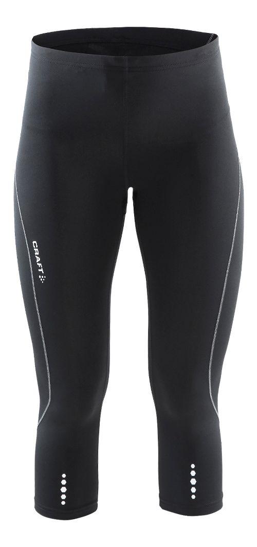 Womens Craft Mind Capris Pants - Black/Platinum XS