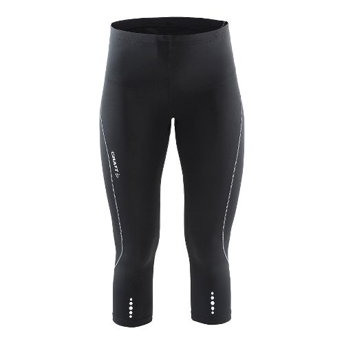 Womens Craft Mind Capris Pants - Black/Platinum XL